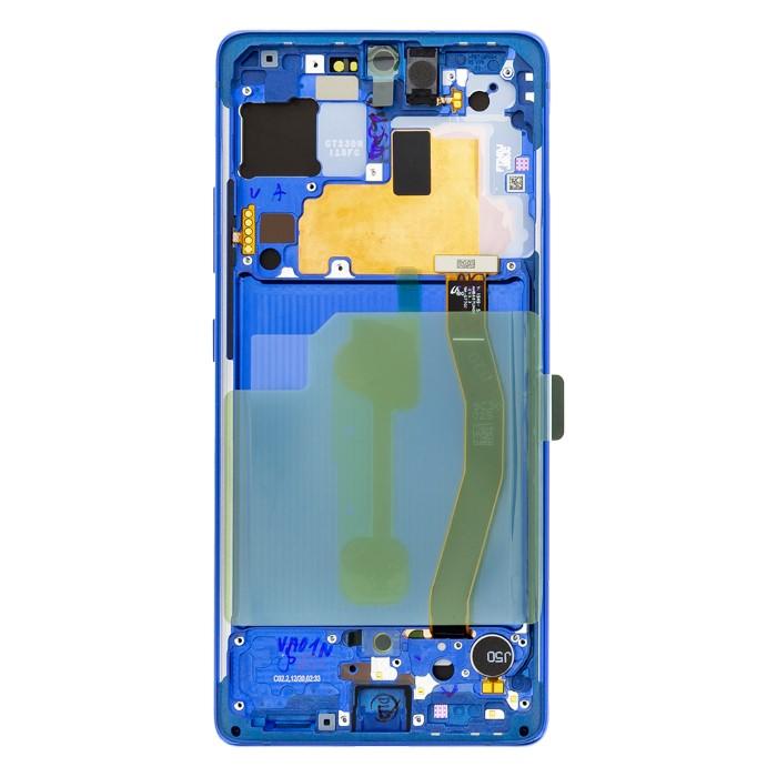 LCD display Samsung G770F Galaxy S10 Lite GH82-21672C Blu