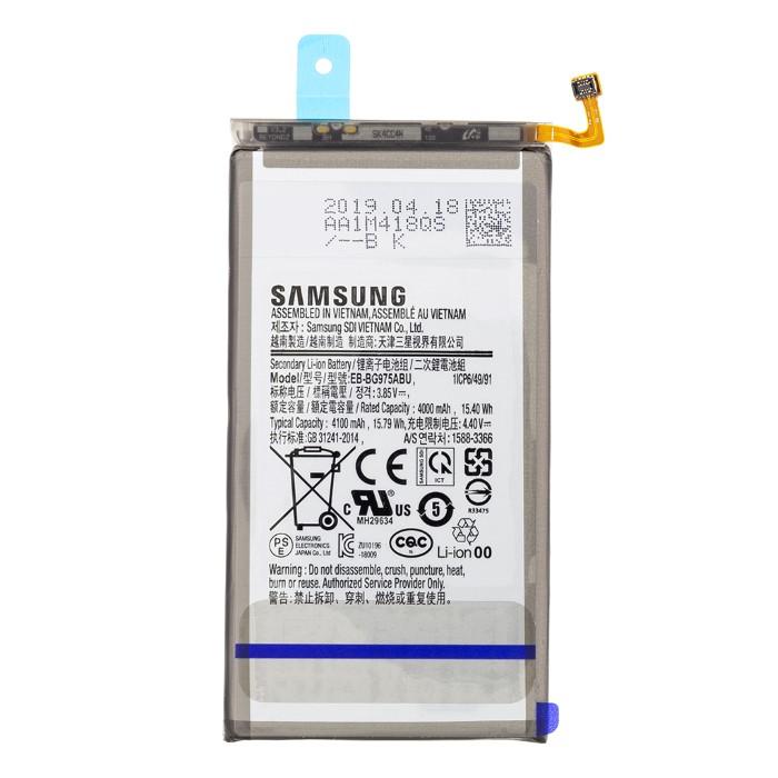 Batteria Samsung Galaxy S10 Plus EB-BG975ABU Service pack