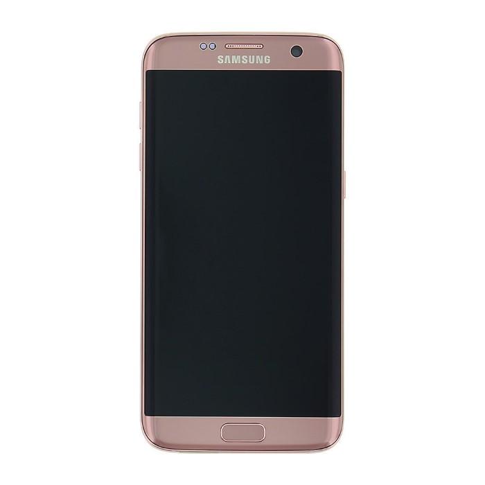 LCD + TOUCH PER GALAXY S7 EDGE ROSE GOLD GH97-18533E