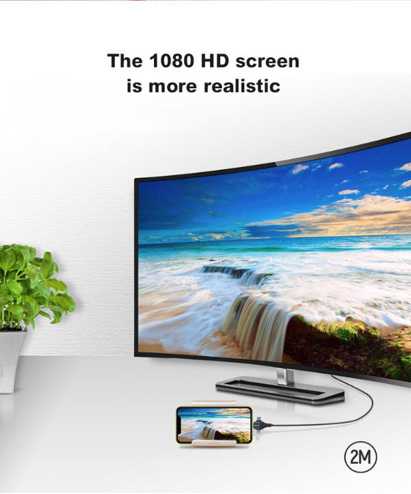 Adattatore da HDMI a Type-C / Micro Usb / Apple Lightning