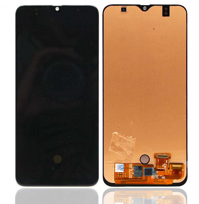Lcd Oled Compatibile per Samsung A50 A50S A505 A507 Nero