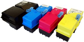Yellow for Kyocera KM C2520,2525E,3225,3232,4035E-7K#TK-825Y