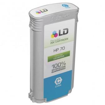 130ml Pigment Ciano for HP Z2100,Z3200,Z5200,Z5400#70