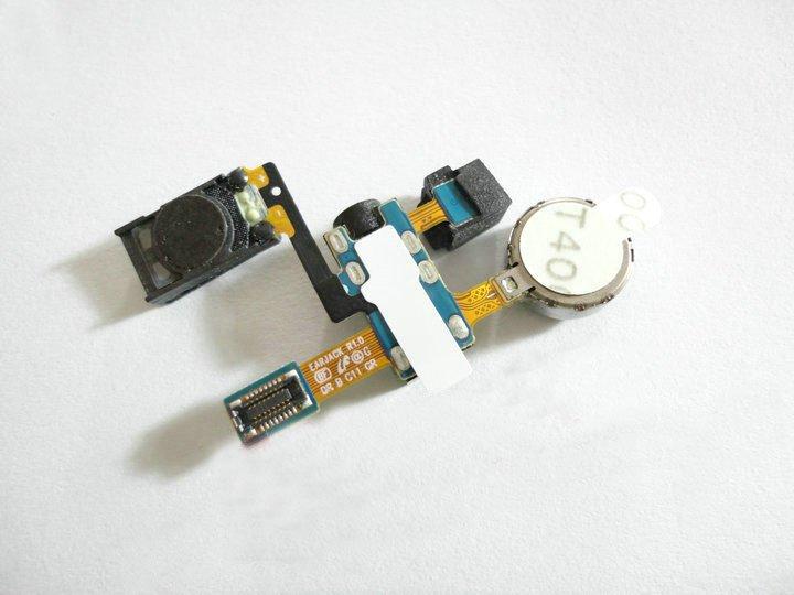 Headset con cavo Flat per Samsung Galaxy S II / i9100