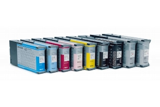 220ml Com Pigment  Pro 4000,7600,9600-C13T544100#Foto Black