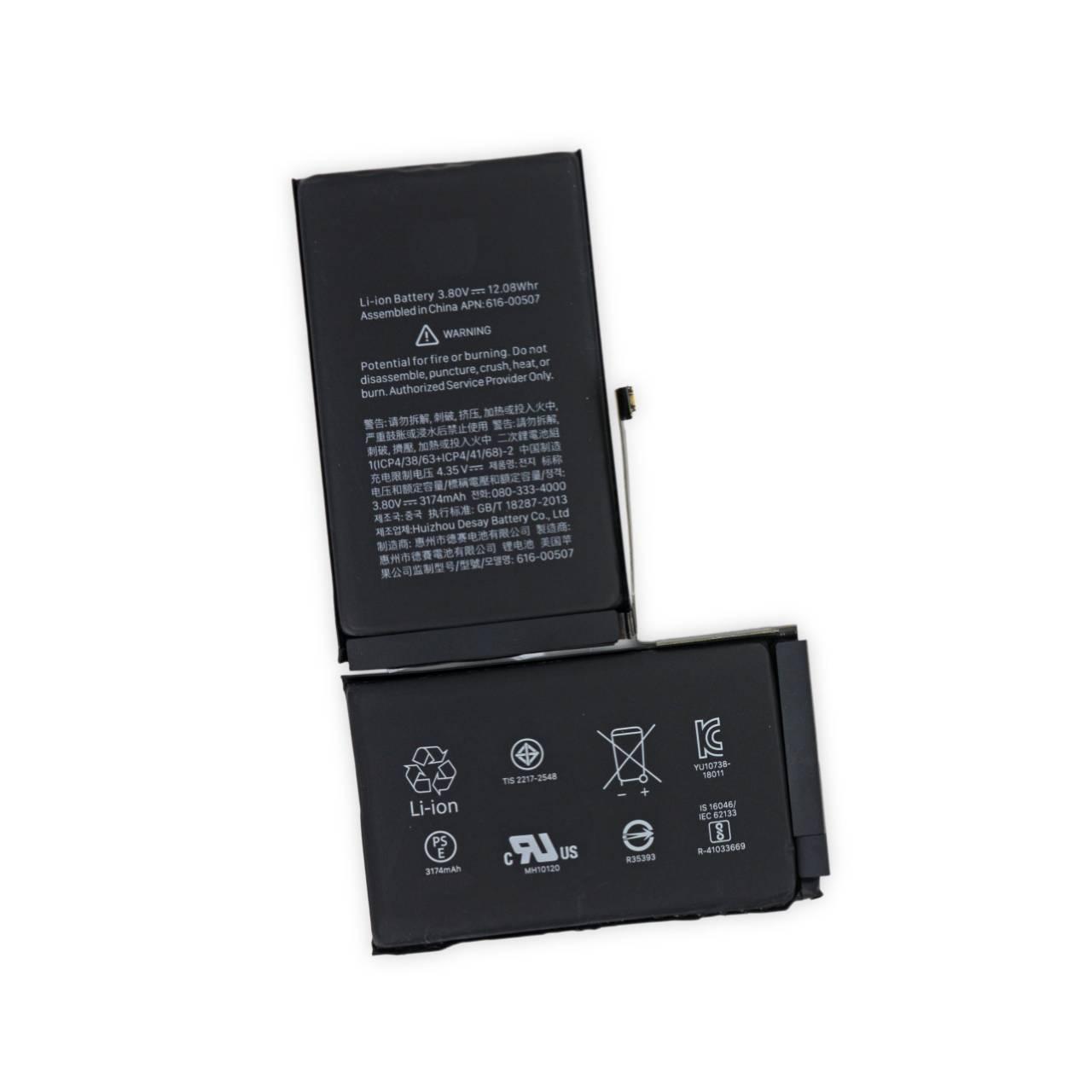 Batteria per iPhone XS MAX, 3174mAh